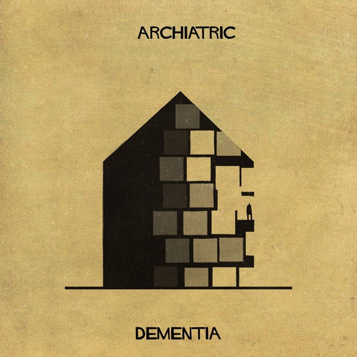 Doencas e desordens mentais transformadas em arquitetura (1)