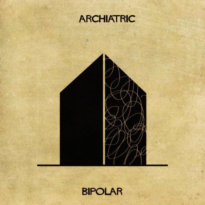 Doencas e desordens mentais transformadas em arquitetura (3)