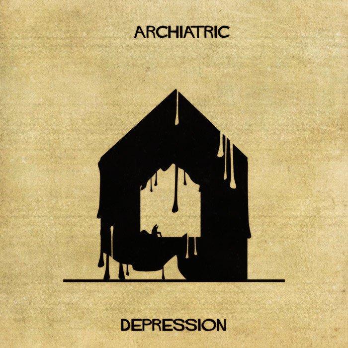 Doencas e desordens mentais transformadas em arquitetura (4)