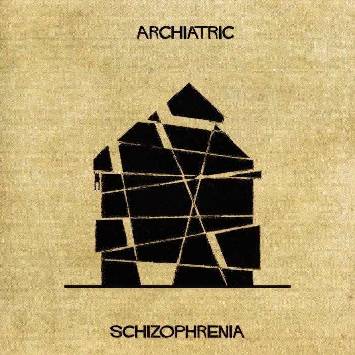 Doencas e desordens mentais transformadas em arquitetura (5)