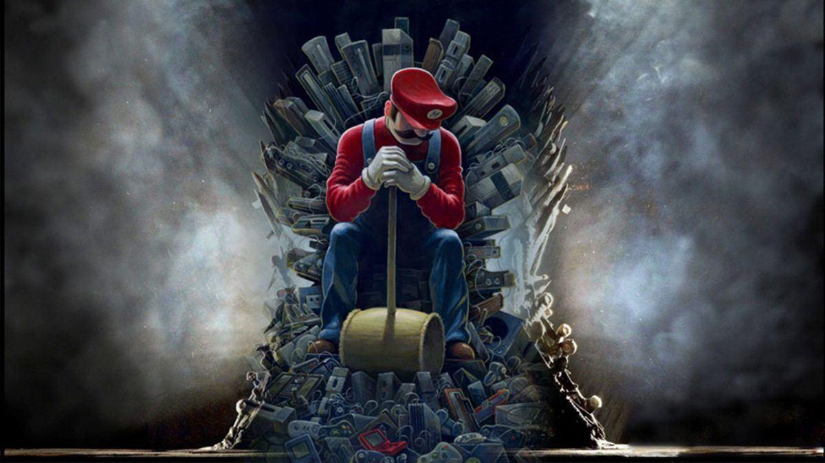 Game of Thrones Super Mario World 1