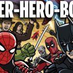 Mais de 100 super-herois guerreando entre si para descobrir quem é o Heroi Supremo
