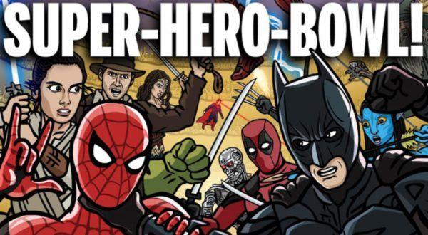 Mais de 100 super herois guerreando entre si para descobrir quem é o Heroi Supremo