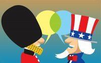 Diferenças entre o inglês britânico e o inglês americano
