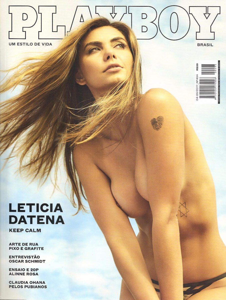 Fotos da Playboy Leticia Datena Abril 2