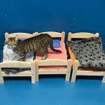 Ikea doa camas de bonecas para abrigo de gatinhos 1