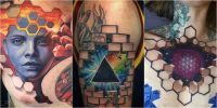 Tatuagens 3D e ilusões de ótica