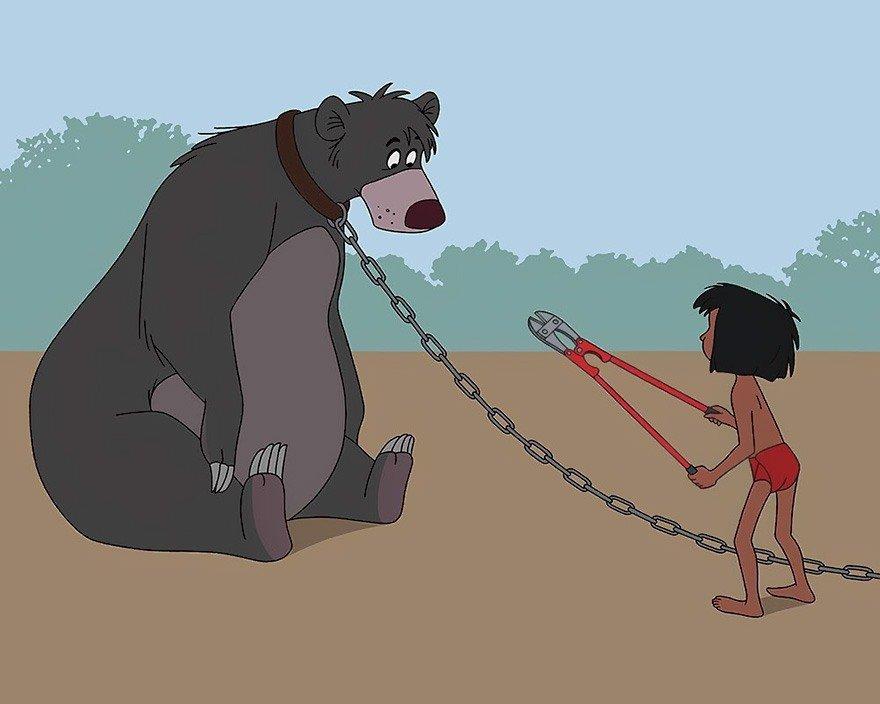 Filmes da Disney nos dias de hoje