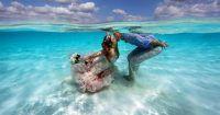 Noivos decidem se casar dentro d'água no mar do Caribe