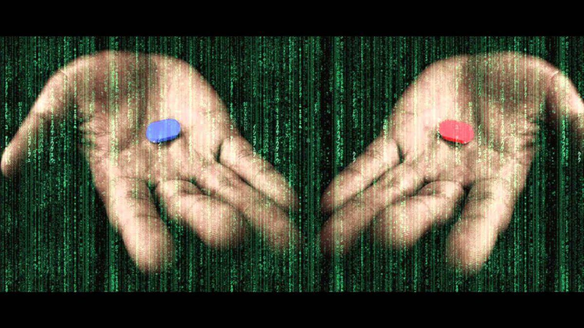matrix pilula azul ou vermelha