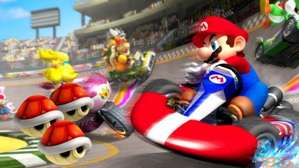 Mario Kart realidade virtual