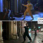 Recriando cenas de classicos do cinema nos locais em que foram gravadas