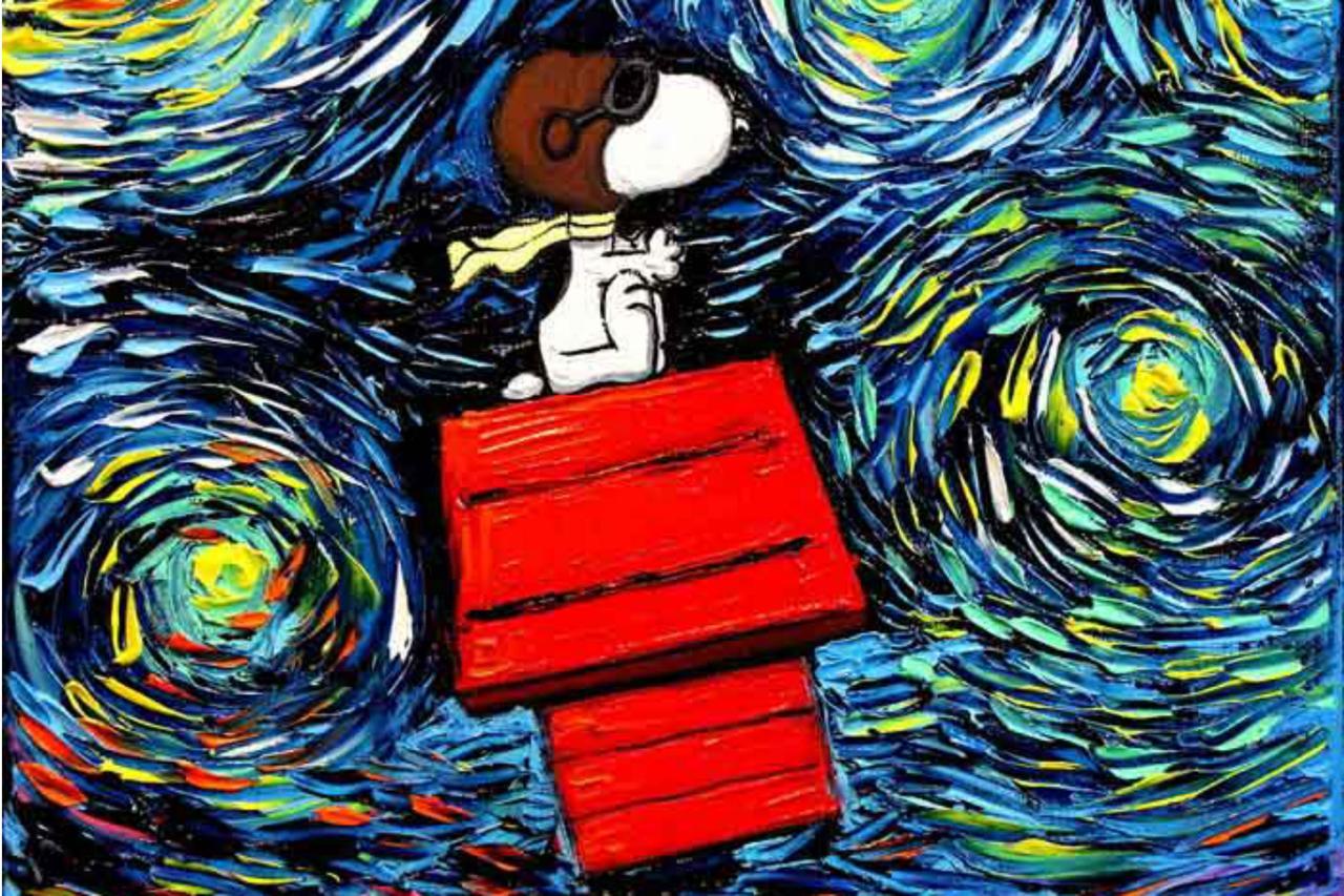 [Instagram da Semana] Incorporando personagens da cultura pop em pinturas de Van Gogh