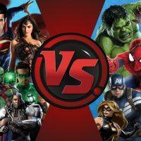 Os Vingadores x Liga da Justiça