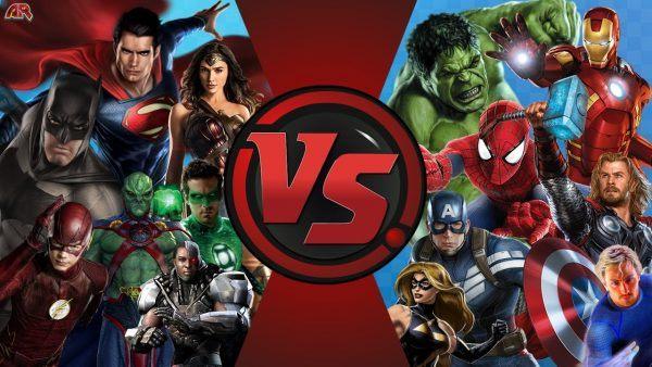 Os Vingadores x Liga da Justica