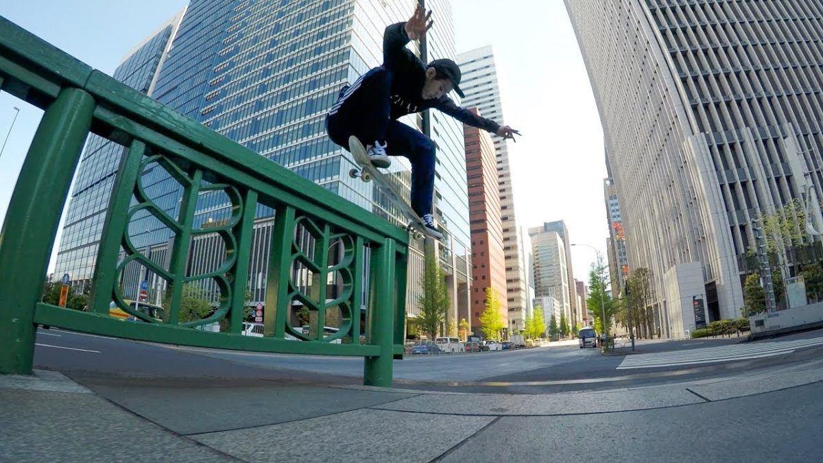 skate pelas ruas de Tokyo 2