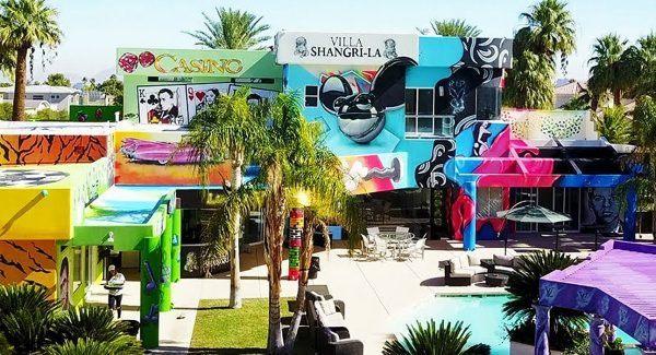 Grafitando uma mansao em Las Vegas 2