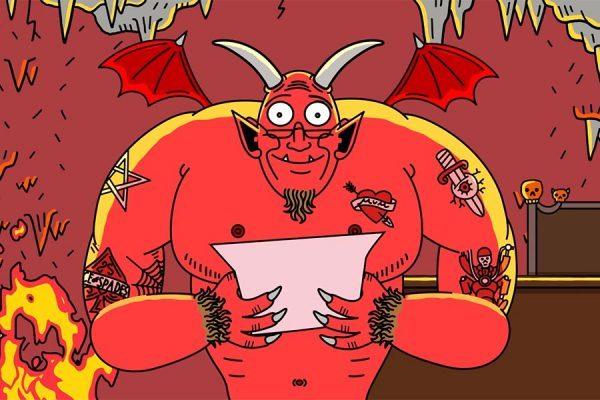 carta para Satan 2