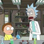 Mais uma tarde normal na garagem do Rick e Morty