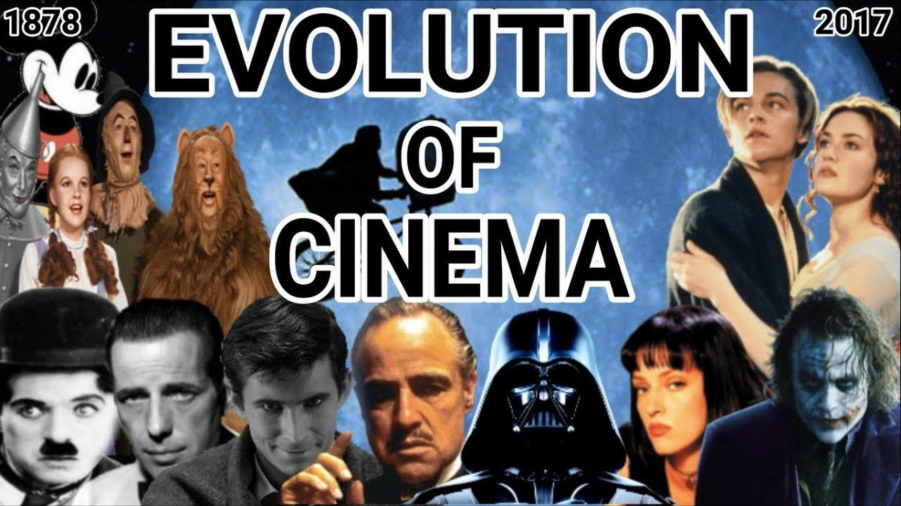 A evolução do cinema