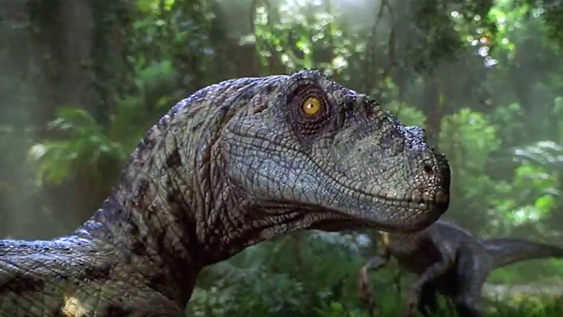 Câmera amadora detecta a presença de dinossauros na floresta