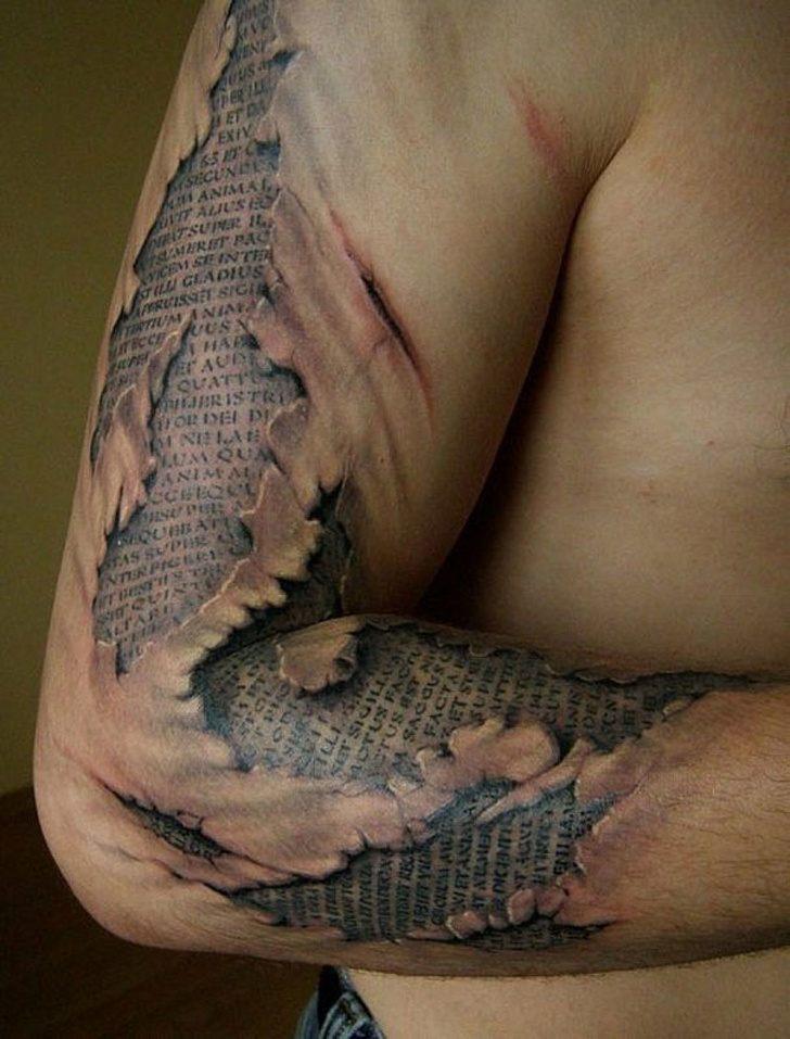 Tatuagens realistas e em 3D fodasticas 1