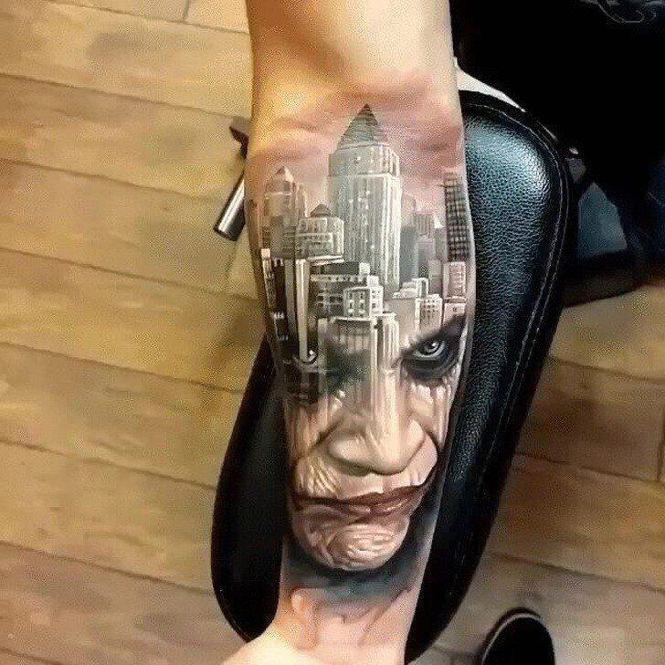 Tatuagens realistas e em 3D fodasticas 10