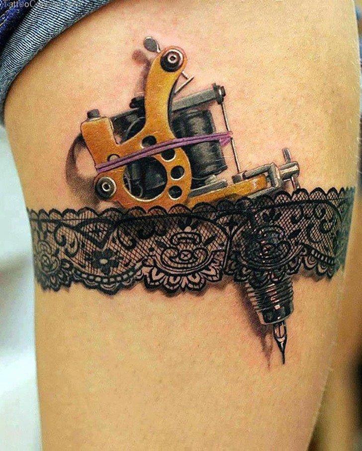 Tatuagens realistas e em 3D fodasticas 11