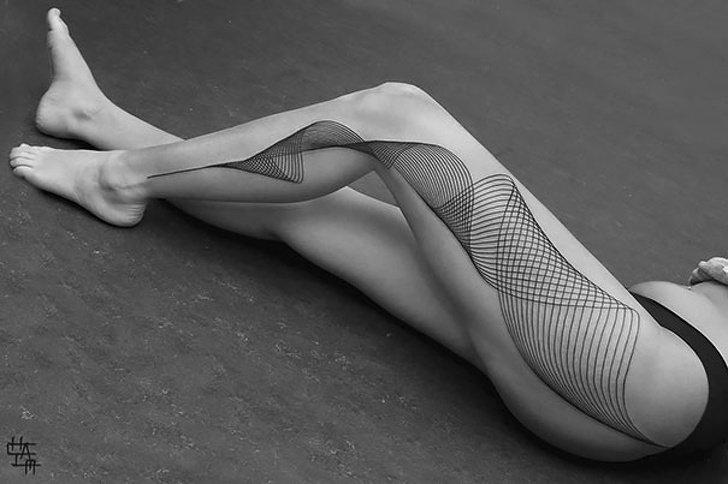Tatuagens realistas e em 3D fodasticas 16