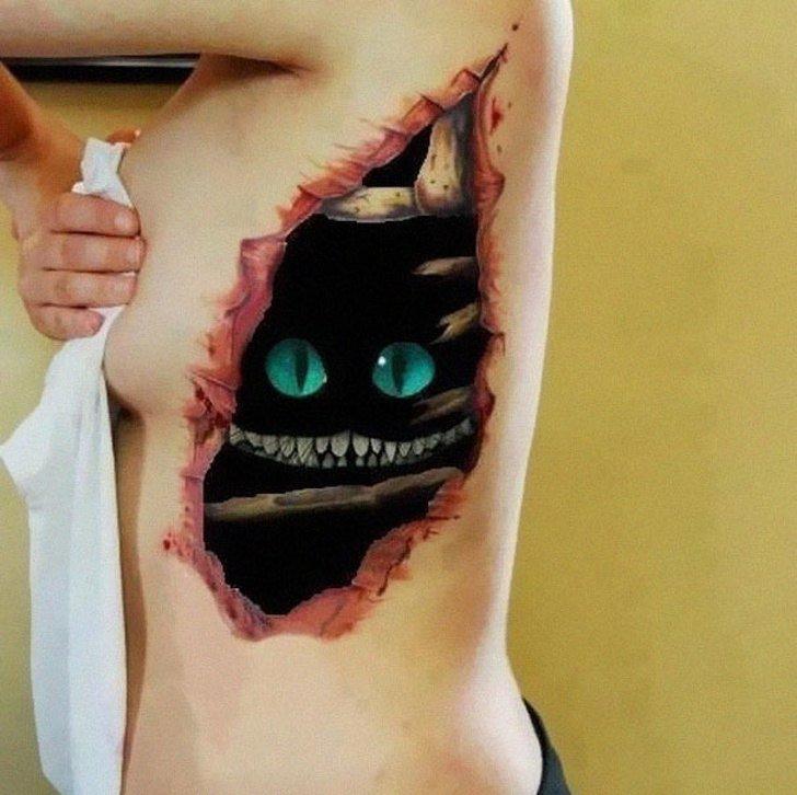 Tatuagens realistas e em 3D fodasticas 19