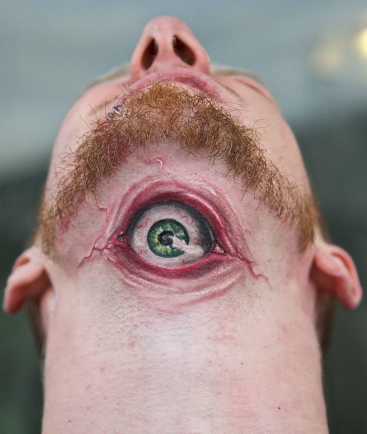 Tatuagens realistas e em 3D fodasticas 2
