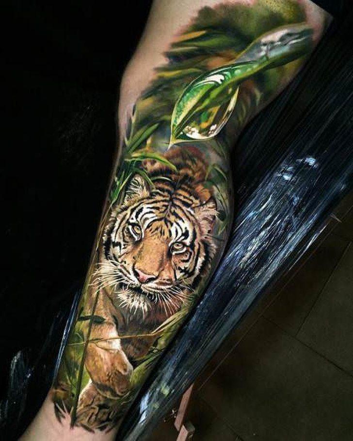 Tatuagens realistas e em 3D fodasticas 22