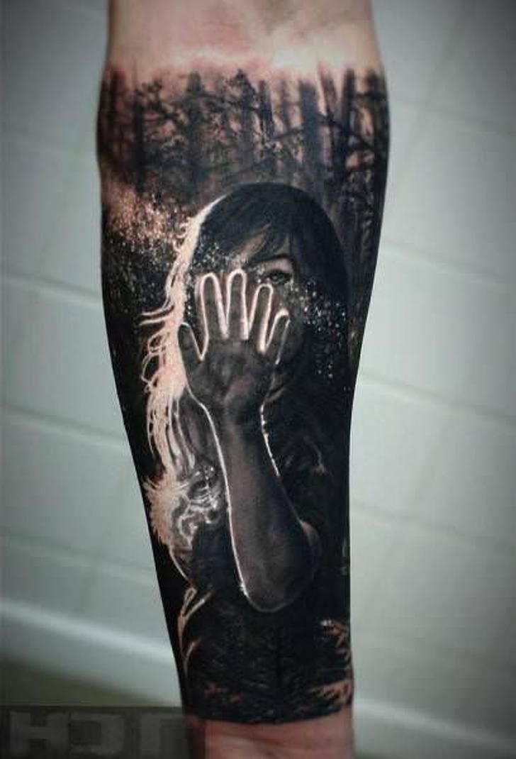 Tatuagens realistas e em 3D fodasticas 27