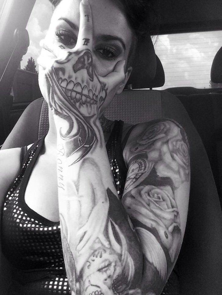 Tatuagens realistas e em 3D fodasticas 3