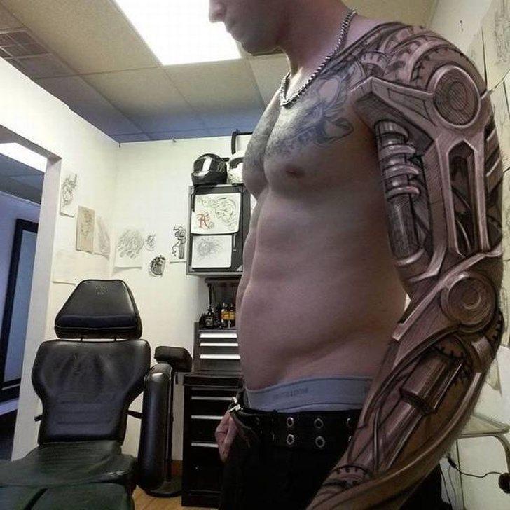 Tatuagens realistas e em 3D fodasticas 4