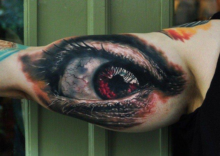 Tatuagens realistas e em 3D fodasticas 8