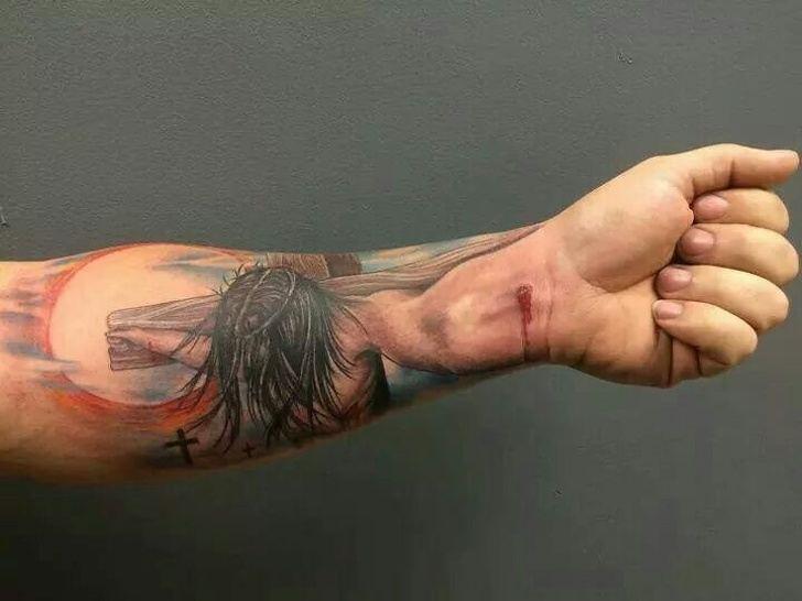 Tatuagens realistas e em 3D fodasticas 9
