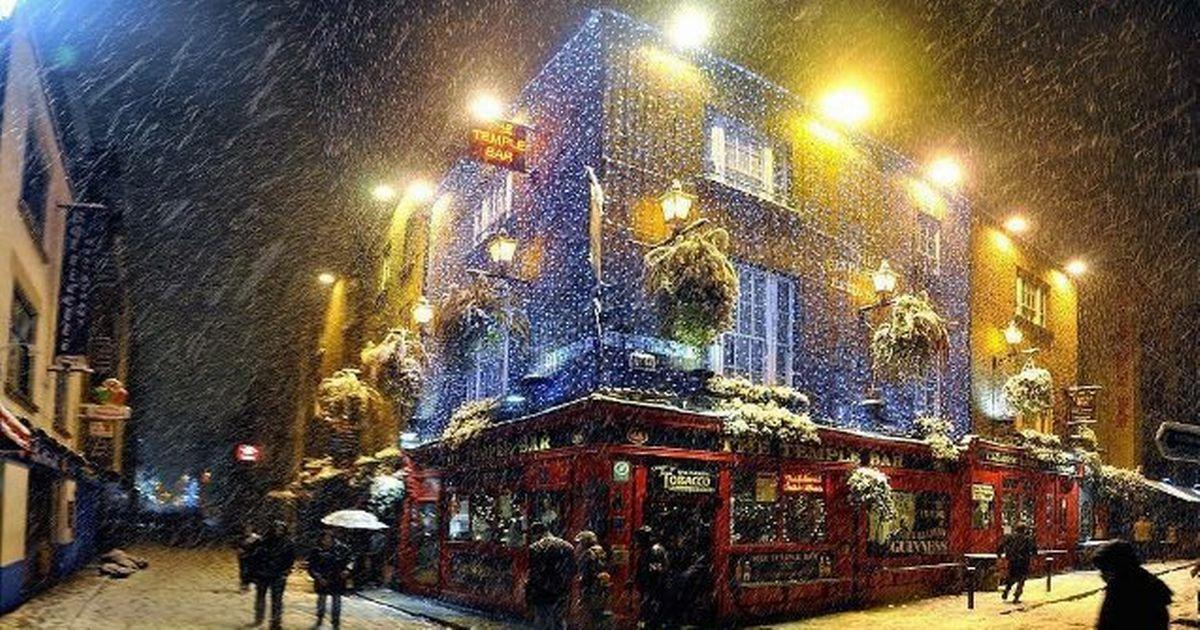 Neve em Dublin: Antes e Depois da Tempestade Besta do Leste