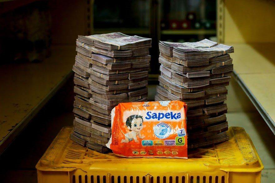 A quantia de dinheiro que voce precisa para comprar itens basicos na Venezuela 5
