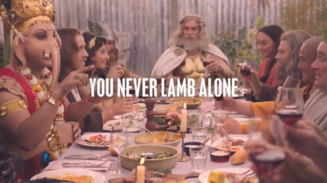 Cordeiro é definitivamente a refeição preferida de todos os deuses