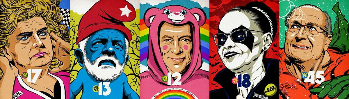 E se os candidatos a presidente fossem super herois 1