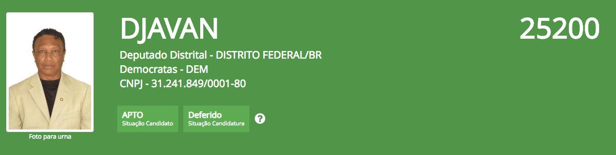 Os candidatos mais bizarros nas eleicoes 2018 Regiao CENTRO OESTE 8