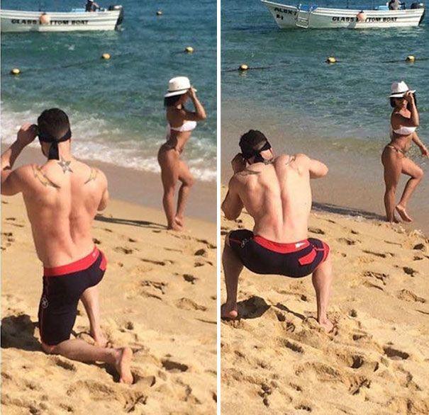 a tortura de homens tirando fotos perfeitas de suas namoradas 17