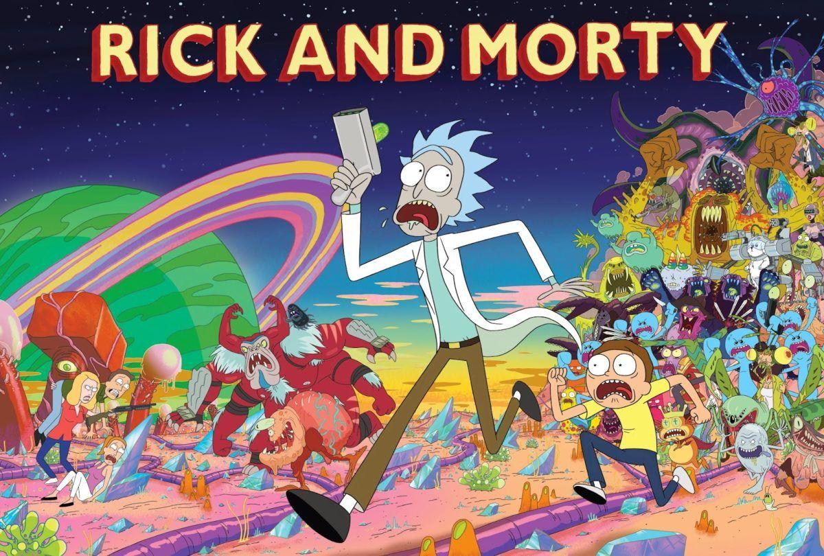 Rick and Morty - Série de conteúdo adulto