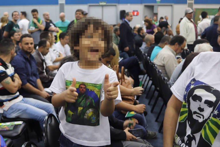 Criancas repetem as palavras de Jair Bolsonaro 2