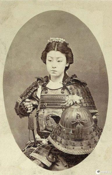 Guerreira samurai