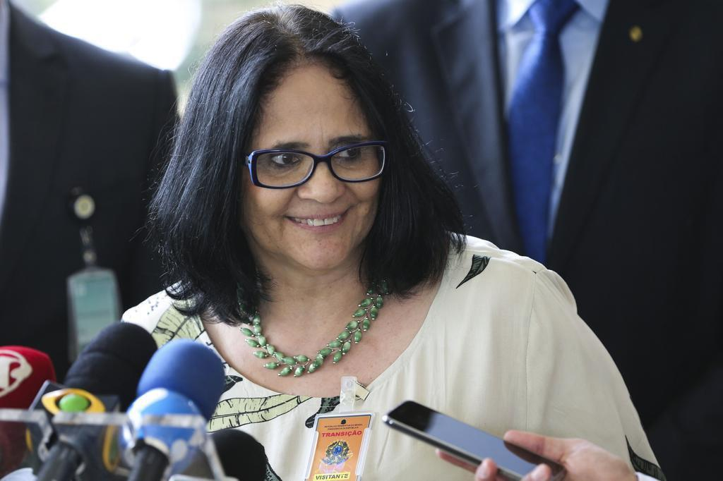 Damares Alves ministra da Mulher Família e Direitos Humanos 1
