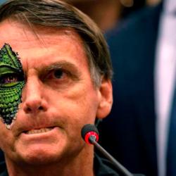 Jair Bolsonaro é um Reptiliano e nós podemos provar!