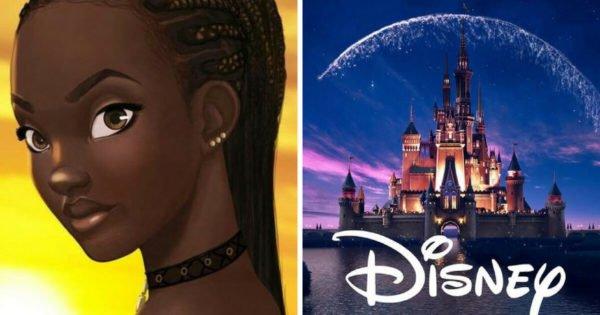 disney anunciou o seu primeiro filme protagonizado por uma princesa africana sade1
