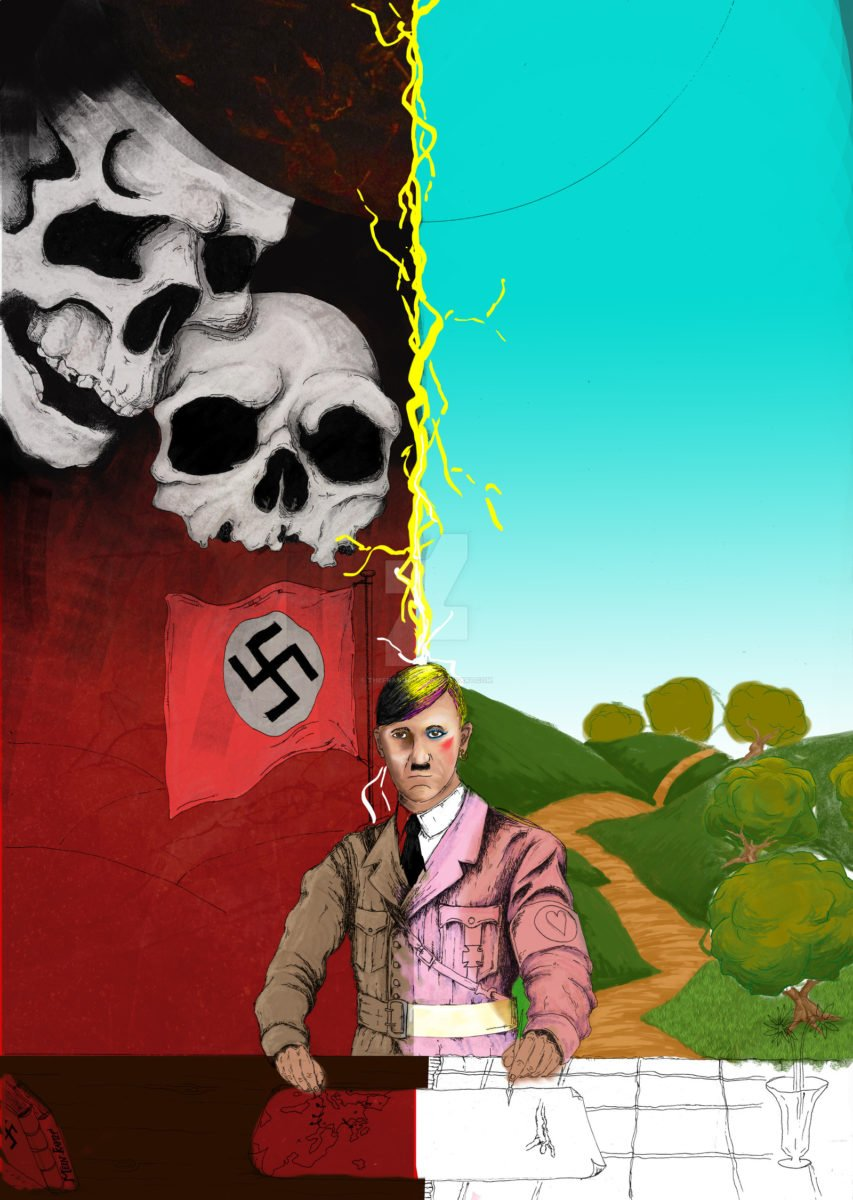 hitler evil gay commission wip by thefranology d685xj7